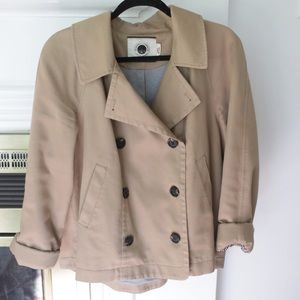 Daughters Of Liberation- Anthropology Pea Coat